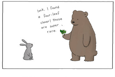 Four Leaf Clover by Liz Climo