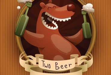 Two Beer or Not To Bear - Happy International Beer Day