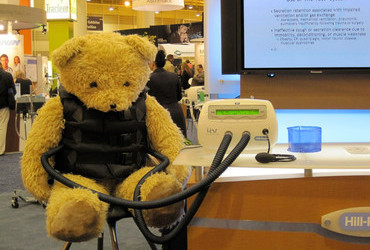 COPD epidemic when even Teddy Bears need mechanical help with airway clearance
