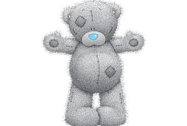 Tatty Teddy (aka 'Me to You' Bear) is made by the Carte Blanche Greetings 1995